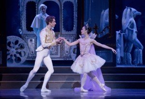 "Oregon Ballet Theatre dancers Xuan Cheng and Brian Simcoe in Ben Stevenson's ""Cinderella"" Photo by Blaine Truitt Covert"