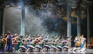 "Pacific Northwest Ballet dancers  in Ronald Hynd's ""The Sleeping Beauty"" Photo by Angela Sterling"