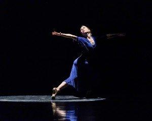 """Lieneke Matte in Ian Horvath's """"Laura's Women"""" Photo by Bill Naiman"""