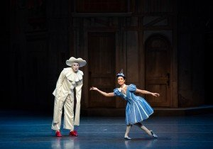 Stella Abrera and Thomas Forster in Harlequinade. photo by Doug Gifford