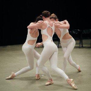 "New Chamber Ballet dancers in Miro Magloire's ""Sanctum"" Photo by Arnaud Falchier"