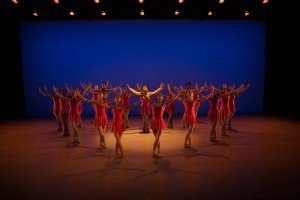 "Ballet Academy East student dancers in Christopher Charles McDaniel's ""La Danza Curativa"" Photo by Rosalie O'Connor"