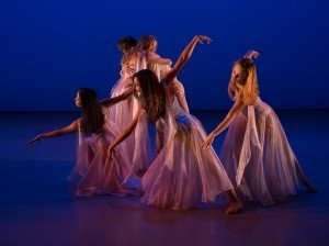 """Ballet Academy East student dancers in """"Elégie,"""" choreographed by George Balanchine © The George Balanchine Trust Photo by Rosalie O'Connor"""