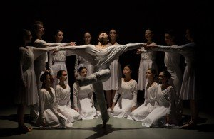 "Ballet Academy East student dancers in Ariel Rose's ""Elysium"" Photo by Rosalie O'Connor"