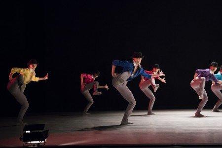 "Ballet Hispánico dancers  in Annabelle Lopez Ochoa's ""Sombrerisimo"" Photo by Paula Lobo"
