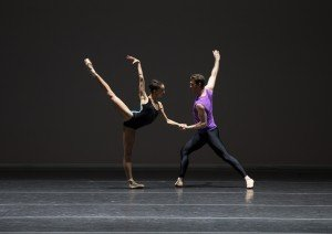 """Chyrstyn Fentroy and Roddy Doble in William Forsythe's """"Pas/Parts 2018"""" Photo by Rosalie O'Connor"""