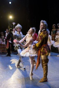 """Ashley Ellis and Roddy Doble in Marius Petipa's """"The Sleeping Beauty"""" Photo by Liza Voll Photography"""
