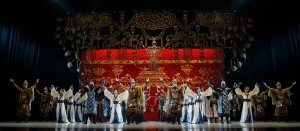 "China National Opera  & Dance Drama Theater dancers  in ""Princess Zhaojun"" Photo courtesy of China National Opera  & Dance Drama Theater"