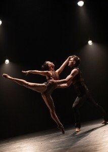 "Eriko Sugimura and Craig Dionne in Dwight Rhoden's ""Woke"" Photo by Joseph Franciosa"