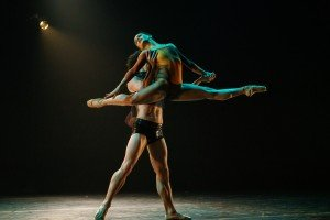 "Tatiana Melendez and Simon Plant in Dwight Rhoden's ""Woke"" Photo by Steven Pisano"