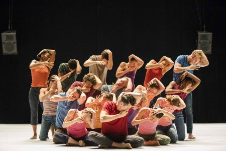 "Hubbard Street Dance Chicago in Ohad Naharin's ""Decadance / Chicago"" Photo by Todd Rosenberg"