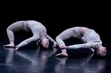 James Cousins Company, The Secret Of Having It All, dancers Jemima Brown and George Frampton Photo: Camilla Greenwell