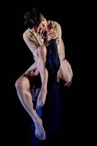 James Cousins Company in Within Her Eyes, dancers Chihiro Kawasaki Rhys Dennis Photo: Camilla Greenwell