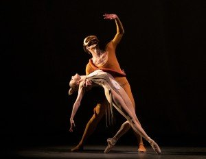 "Sterling Hyltin and Gonzalo Garcia in George Balanchine's ""Orpheus"" Photo by Erin Baiano"