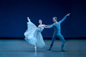 "Lauren Lovette and Ask la Cour in George Balanchine's ""Serenade"" Credit by Paul Kolnik"