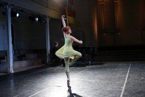 "New York Theatre Ballet dancer Dawn Gierling Milatin in Sir Richard Alston's ""The Seasons"" Photo by Julie Lemberger"
