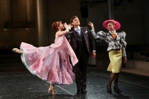 "New York Theatre Ballet dancers  (l-r) Dawn Gierling Milatin, Sean Stewart,  and Amanda Treiber in Matthew Nash's  ""The Elements of Style"" Photo by Julie Lemberger"