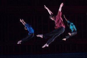 MMDG in Numerator, (L to R: Noah Vinson, Sam Black, Brandon Randolph), photo by Christopher Duggan