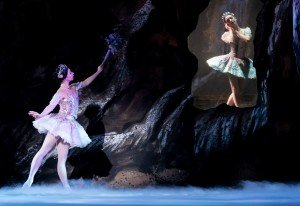 The Washington Ballet's Kateryna Derechyna and Katherine Barkman, photo by Victoria Pickering IGDC