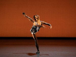 New York City Ballet's Taylor Stanley in Kyle Abraham's The Runaway, photo by Erin Baiano