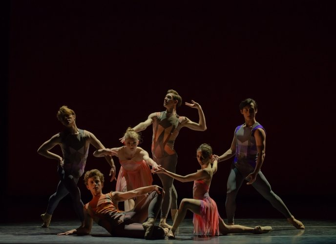 Artists of Pennsylvania Ballet in Deco Photo: Arian Molina Soca