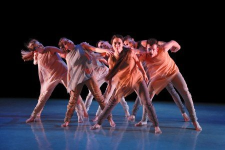 "Members of Alison Cook Beatty Dance in Alison Cook-Beatty's ""Magnetic Temptations"" Photo by Paul B. Goode"