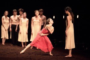 Francesca Velicu in Pina Bausch's Le Sacre du Printemps Photo: Laurent Liotardo