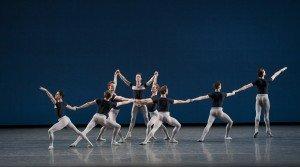 New York City Ballet, Kammermusik No. 2, choreography by George Balanchine © The George Balanchine Trust, photo by Paul Kolnik
