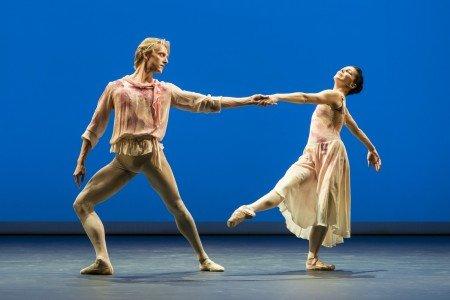 "Natalia Osipova and David Hallberg in Antony Tudor's ""The Leaves are Fading"" Photo by Johan Persson"