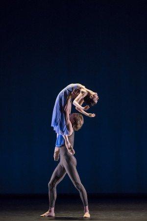 "Natalia Osipova and David Hallberg in Alexei Ratmansky's ""Valse Triste"" Photo by Johan Persson"