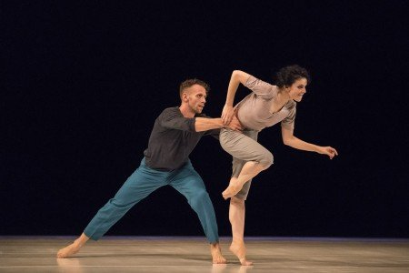 """Natalia Osipova and Jason Kittelberger in Roy Assaf's """"Six Years Later"""" Photo by Johan Persson"""