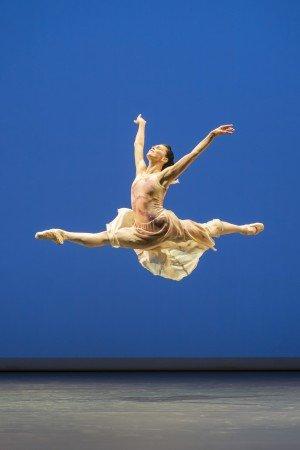 """Natalia Osipova  in Antony Tudor's  """"The Leaves are Fading"""" Photo by Johan Persson"""